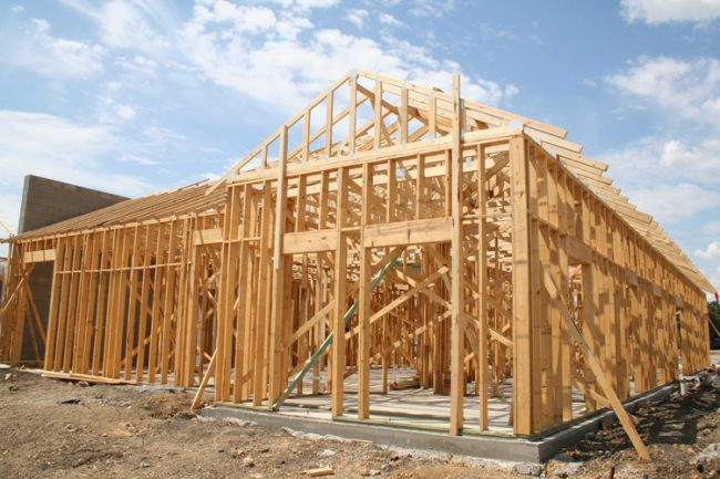Typical Wood Framing Structure